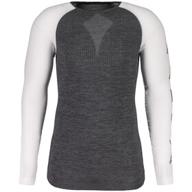 Maloja BenedictM. NOS Maglietta A Maniche Lunghe Base Layer, moonless